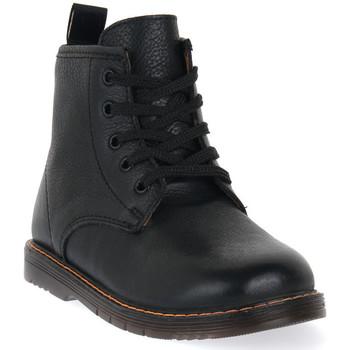 Pantofi Băieți Ghete Grunland NERO 88NILL Nero