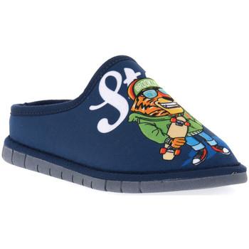 Pantofi Băieți Papuci de casă Grunland BLU G7 FIMO Blu