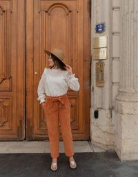 Îmbracaminte Femei Pantalon 5 buzunare Céleste MARRONNIER Camel