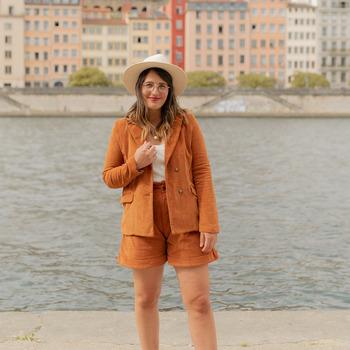 Îmbracaminte Femei Sacouri și Blazere Céleste SASSAFRAS Camel