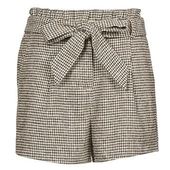 Îmbracaminte Femei Pantaloni scurti și Bermuda Betty London PRICSOU Negru / Ecru