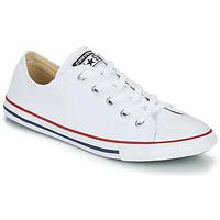 Încăltăminte Femei Pantofi sport Casual Converse CHUCK TAYLOR ALL STAR DAINTY  OX Alb / Roșu