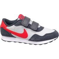 Pantofi Copii Pantofi sport Casual Nike MD Valiant GS Alb, Roșii, Grafit
