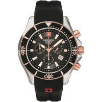 Ceasuri & Bijuterii Bărbați Ceasuri Analogice Swiss Alpine Military 7040.9857, Quartz, 44mm, 10ATM Argintiu