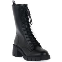 Pantofi Femei Botine Steve Madden BLACK HIGHLAND Nero