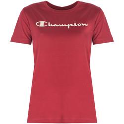 Îmbracaminte Femei Tricouri mânecă scurtă Champion  roșu