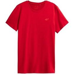 Îmbracaminte Bărbați Tricouri mânecă scurtă 4F TSM352 Roșii