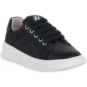 Pantofi Fete Pantofi sport Casual Naturino A01 NIXOM PLATINO Nero