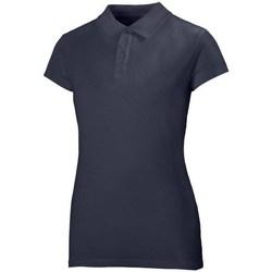 Îmbracaminte Femei Tricou Polo mânecă scurtă Helly Hansen Crew Polo Albastru marim