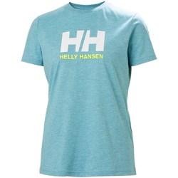 Îmbracaminte Femei Tricouri mânecă scurtă Helly Hansen W Logo Tshirt Albastre