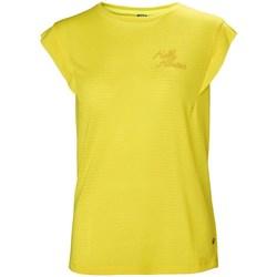 Îmbracaminte Femei Tricouri mânecă scurtă Helly Hansen Siren Spring Galbene