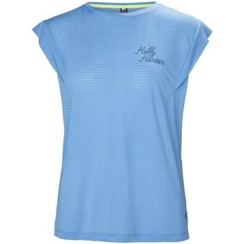 Îmbracaminte Femei Tricouri mânecă scurtă Helly Hansen Siren Spring Albastre