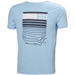 Îmbracaminte Bărbați Tricouri mânecă scurtă Helly Hansen Shoreline Albastre