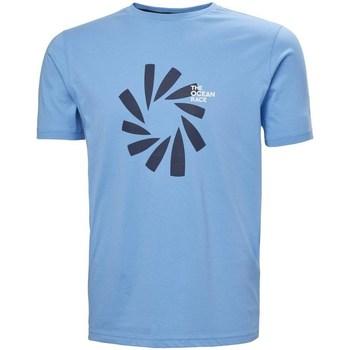 Îmbracaminte Bărbați Tricouri mânecă scurtă Helly Hansen The Ocean Race Albastre