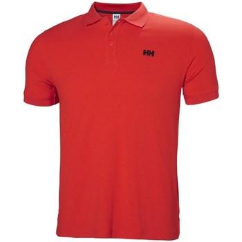 Îmbracaminte Bărbați Tricou Polo mânecă scurtă Helly Hansen Driftline Roșii