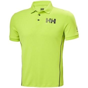 Îmbracaminte Bărbați Tricou Polo mânecă scurtă Helly Hansen HP Racing Verde