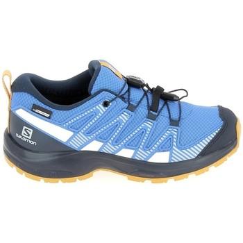 Pantofi Copii Trail și running Salomon Xa Pro V8 Jr CSWP Bleu albastru