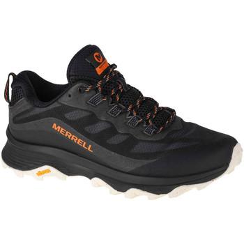 Pantofi Bărbați Drumetie și trekking Merrell Moab Speed Noir