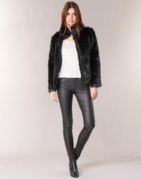 Îmbracaminte Femei Pantalon 5 buzunare Vero Moda SEVEN Negru