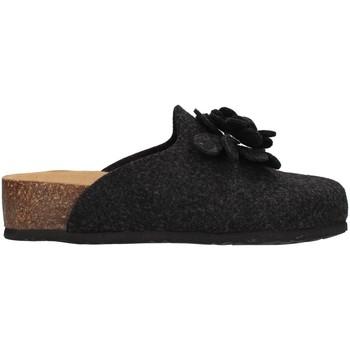 Pantofi Femei Papuci de casă Bionatura 12CANAZ-FI-FLA11 ANTHRACITE
