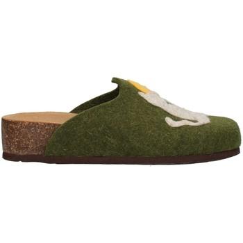 Pantofi Femei Papuci de casă Bionatura 12GAT20-I-FELV74 GREEN