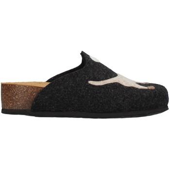 Pantofi Femei Papuci de casă Bionatura 12ARGO-I-FELA118 ANTHRACITE