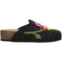 Pantofi Femei Papuci de casă Bionatura 12GUFO-I-FELA118 ANTHRACITE