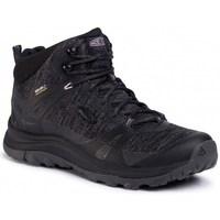 Pantofi Femei Drumetie și trekking Keen Terradora II Mid WP Negre