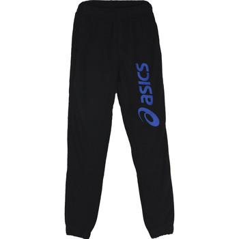 Îmbracaminte Băieți Pantaloni de trening Asics Big Logo Sweat Jr Pant Noir