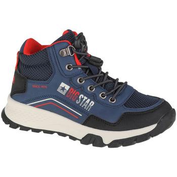 Pantofi Băieți Drumetie și trekking Big Star Youth Shoes Bleu marine