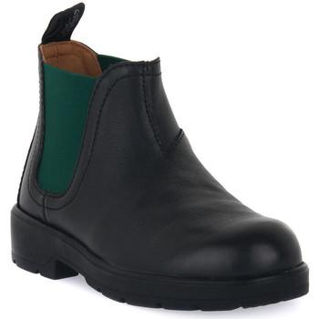 Pantofi Băieți Ghete Grunland NERO 88TABA Nero