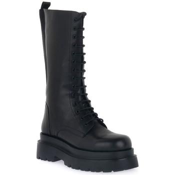 Pantofi Femei Cizme casual Keys ANFIBIO BLK Nero