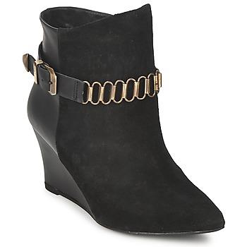 Pantofi Femei Botine Pastelle ALINE Negru