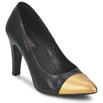 Pantofi Femei Pantofi cu toc Pastelle AMELINE Negru