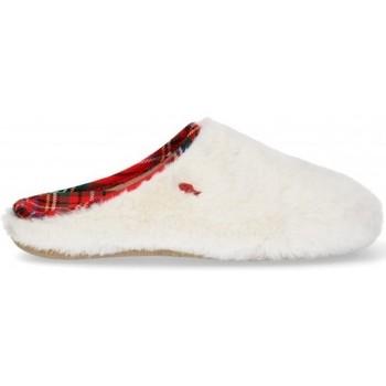 Pantofi Femei Papuci de casă Hot Potatoes ZAPATILLAS CASA MUJER  64289 Alb