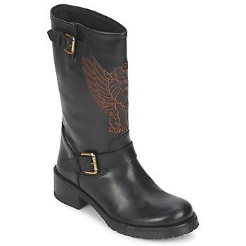 Pantofi Femei Ghete Pastelle ANGEL Negru