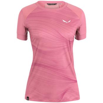 Îmbracaminte Femei Tricouri mânecă scurtă Salewa Koszulka  Seceda Dry W 28070-6570 pink
