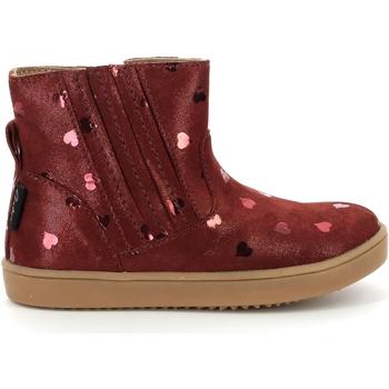 Pantofi Fete Ghete Aster Chaussures fille  Welsea bordeaux