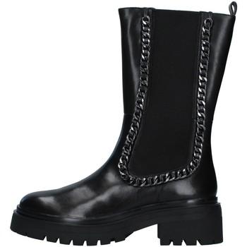 Pantofi Femei Cizme casual Apepazza F1COMBAT17/LEA BLACK