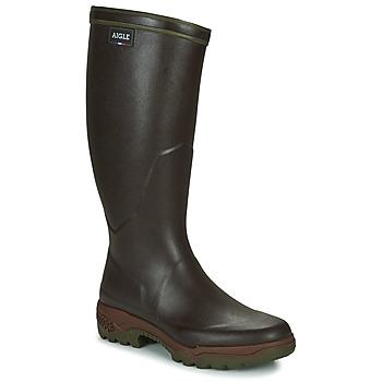 Pantofi Bărbați Cizme de cauciuc Aigle PARCOURS 2 Brun