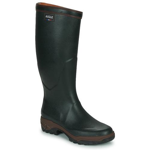 Pantofi Bărbați Cizme de cauciuc Aigle PARCOURS 2 Verde