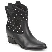 Pantofi Femei Ghete Alberto Gozzi GIANNA  velur-negru