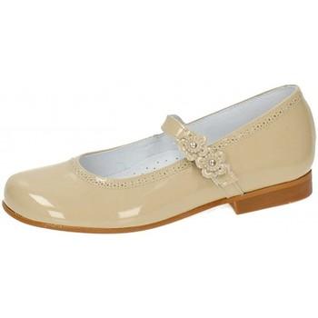Pantofi Fete Balerin și Balerini cu curea Bambinelli 25775-18 Maro