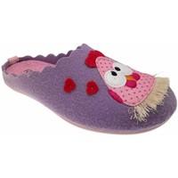 Pantofi Femei Papuci de casă Riposella RIP4495lilla blu