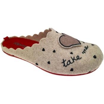 Pantofi Femei Papuci de casă Riposella RIP4496be blu