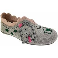 Pantofi Femei Papuci de casă Riposella RIP4579gr grigio