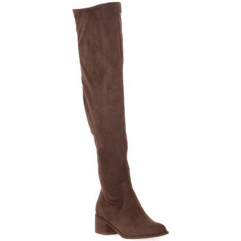 Pantofi Femei Cizme lungi peste genunchi Steve Madden SADIE TAUPE Marrone