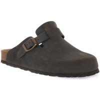 Pantofi Saboti Bioline 1900 FUMO INGRASSATO Grigio