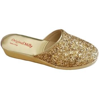 Pantofi Femei Papuci de casă Milly MILLY6200oro grigio