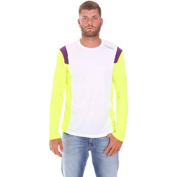 Îmbracaminte Bărbați Tricouri cu mânecă lungă  Diadora 102175720 Alb
